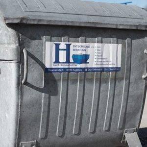 Container Hackenbuchner Entsorgung